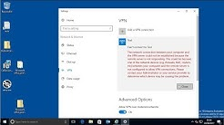 Windows 10 connecting to an L2TP VPN Server that is behind a NAT