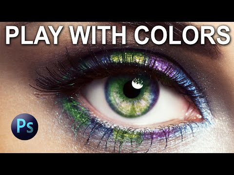 Photoshop Tutorial _ How to Change Eye Color with Photoshop thumbnail