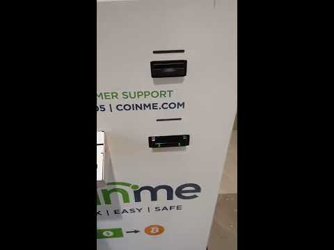 Purchasing BTC locally from a CoinMe ATM