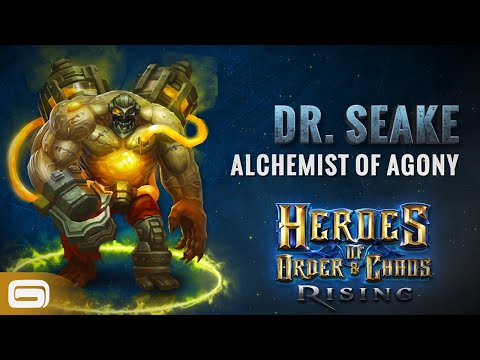 Heroes Of Order And Chaos: Dr. Seake Spotlight