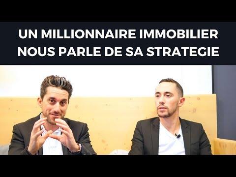 UN MILLIONNAIRE IMMOBILIER NOUS PARLE DE SA STRATEGIE