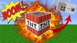 EFSANE TNT MODU ! - Minecraft Too Much Tnt Modu