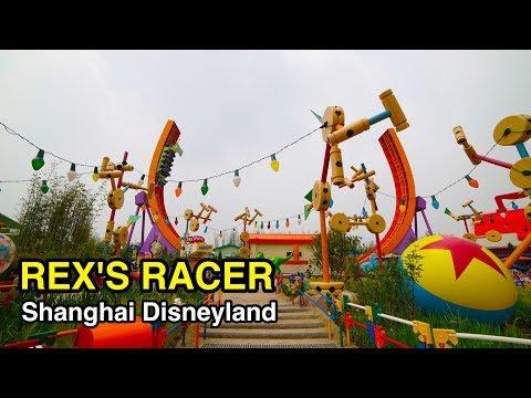 *Just Opened* [4K] Rex's Racer: Shanghai Disneyland (China)