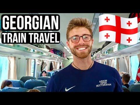 TBILISI To MESTIA: GEORGIAN TRAIN TRAVEL 🇬🇪