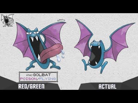 Pokedex GEN 1 Kanto How Pokemon would be Pokémon Red/Green
