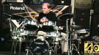 Roland Drum Off @ Jims Music Tustin, CA 9-15-2010.avi