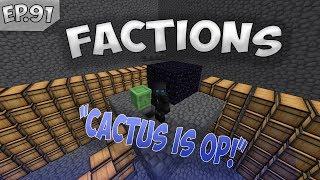 CACTUS FARMS ARE SO OP!!   SaicoPvP Factions Episode #91