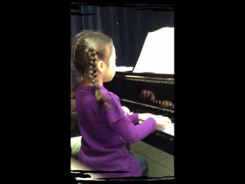 Melisa's piano class