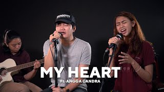 Gambar cover My Heart - Acha & Irwansyah (Febe Ft.  Angga Candra Cover)