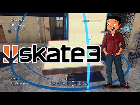 X7 Albert Fantasy Factory - Episode 1 (Skate 3 Park Builder)