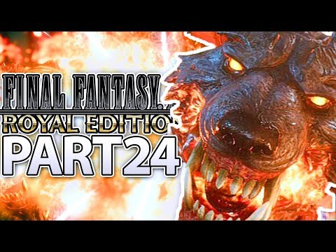 CERBERUS BOSS FIGHT! | Final Fantasy 15: Royal Edition Walkthrough Part 24 (PS4)