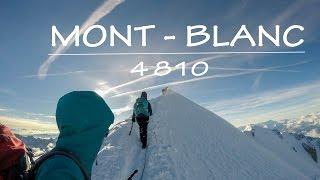 Sur la route du Mont - Blanc - Voie Normale