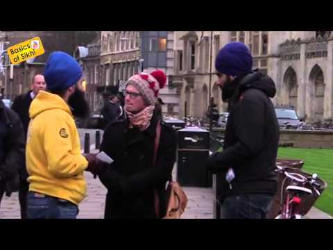 Must Watch- Atheist questions a Sikh #1 of 2 - Cambridge Street Parchar