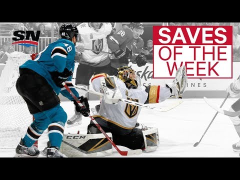 NHL Saves of the Week:  Fleury flashes the leather in OT
