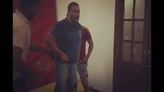 Watch Salman Khan attempt a backflip!