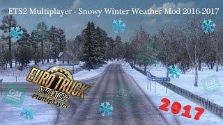 ETS2 Multiplayer – Karlı Kış Modu 2016-2017