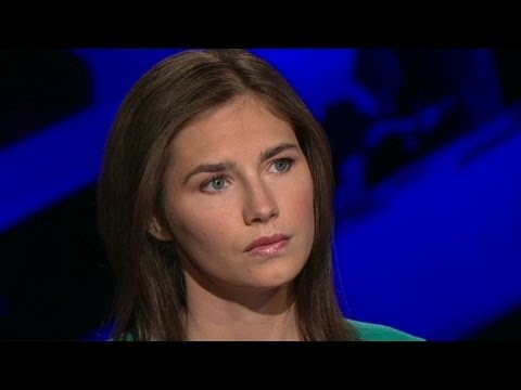 Amanda Knox: 'I was not strapping on leather'