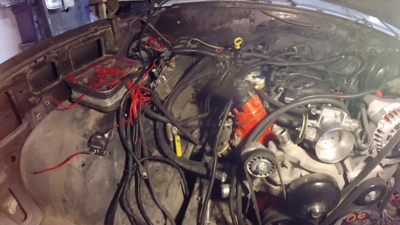 chevy k10 update 6 29 14 ls engine wiring fun youtube rh youtube com LS 5.3 Wiring Kit chevy ls swap wiring harness