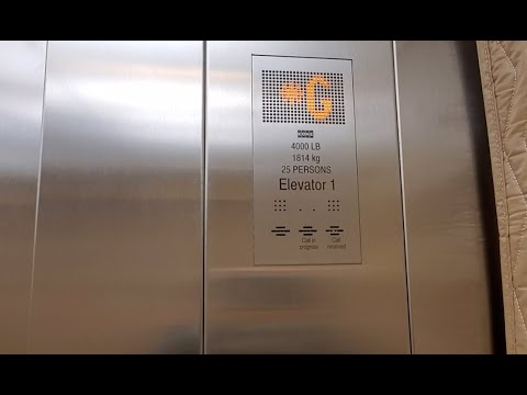 NEW! Kone Ecodisc Traction Elevator at Sir Sandford Fleming Elementary School - Vancouver BC