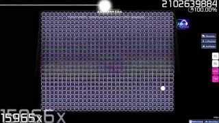 Osu! | Auto Screws Up | LQGR - OMG [BadApple] (Outcome #1)
