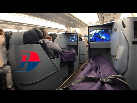 MALAYSIA Airlines A330-200 BUSINESS Class: MH127 Kuala Lumpur To Perth