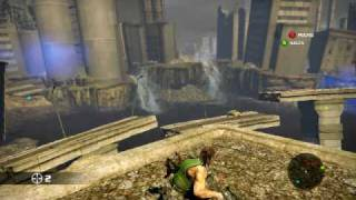 bionic commando gameplay PC MAX SETTINGS