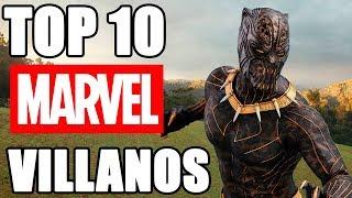 Top 10 Villanos de Marvel (MCU)