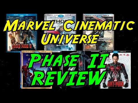 Marvel Cinematic Universe - Phase II Movie Reviews!