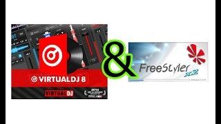 Virtual DJ 8 and Freestyler DMX plugin Mp3