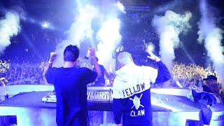 Download Yellow Claw live @ Record Trap • 7.02.2015 • Space Moscow. Part 1. by Efim Kerbut Mp3 and Videos