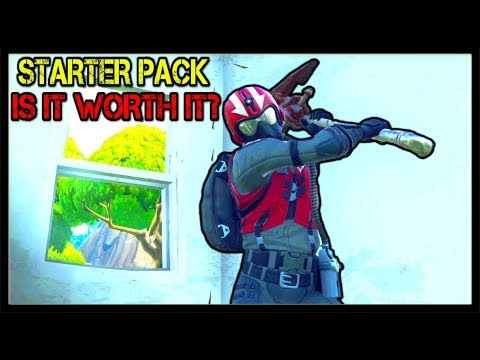 *NEW* WINGMAN SKIN | STARTER PACK In FORTNITE! | Is It Worth The Purchase?