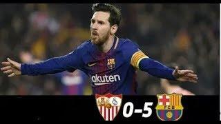 Séville vs Barcelone Résumé Tout Les But / All Goals And Highlights Resumen