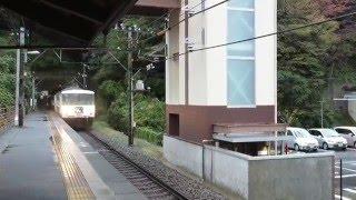 185系 特急踊り子114号 今井浜海岸通過