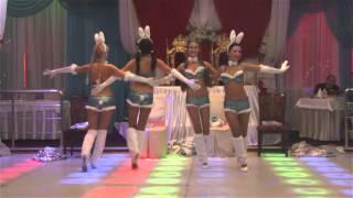 """Танец снегурочек с сюрпризом от шоу группы """"Nellidance"""" - """"TV SHANS"""""""