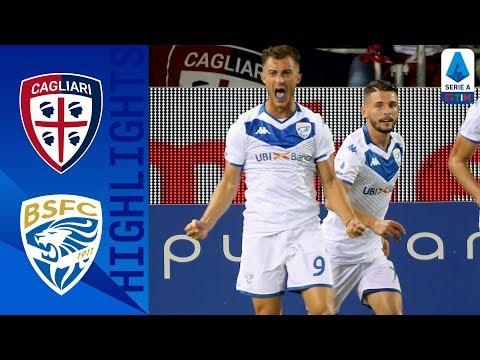 Cagliari 0-1 Brescia | Donnarumma Penalty Seals Brescia Win | Serie A