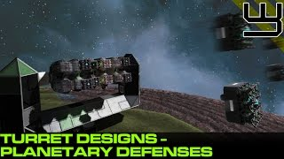 Space Engineers - SAM Site & Planetary Defense Turrets