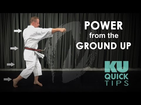 KU Quick Tips - Building Power from the Ground Up