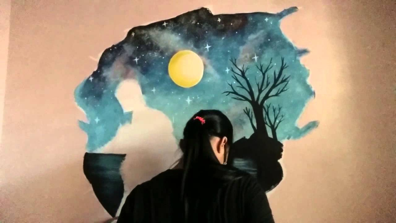 3D Wall Painting 3d wall painting 'faith' - youtube