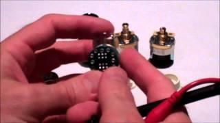 Fender S-1 Switching Pots Explained - Shorter Version