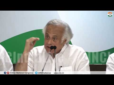 Financial Irregularities: AICC Press Briefing By Jairam Ramesh at Congress HQ