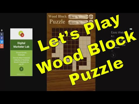 Wood Block Puzzle (Free Online Game) - Let's Play from YouTube · Duration:  5 minutes 2 seconds