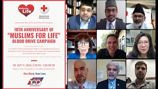 Muslims For Life Blood Drive - 10th Anniversary Event