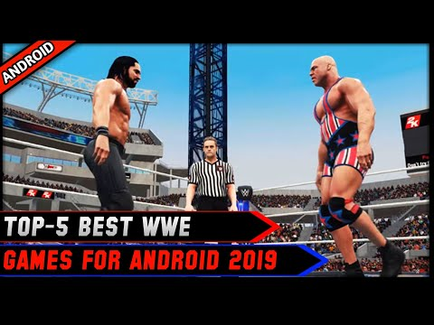 🔥Top-5 Best Wwe Games For Android 2019 With Realistic Graphics!! Must Try