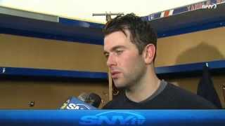 Keith Yandle talks first win with Rangers