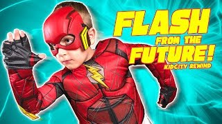 Flash from the Future! KidCity in Review: Gear Test, Chuck E Cheese, and More Family Fun!