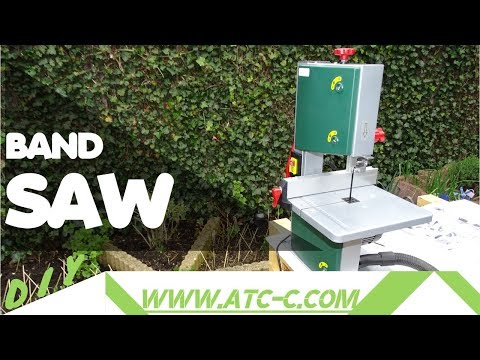Quick review and How to // New parkside PBS 350 A1 bandsaw Unboxing