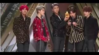 181214 BTS SPEECH -TIKTOK BEST MUSIC VIDEO 2018 MAMA HK