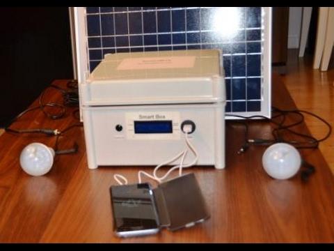 Le kit d'énergie solaire  pour l'Afrique dans le but  de faire du social