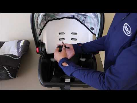 Graco® SnugRide® SnugLock® 30 How To Remove And Replace The Car Seat Cover