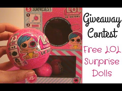 LOL Surprise Lil Sisters Eye Spy Series Unboxing + Giveaway Contest!